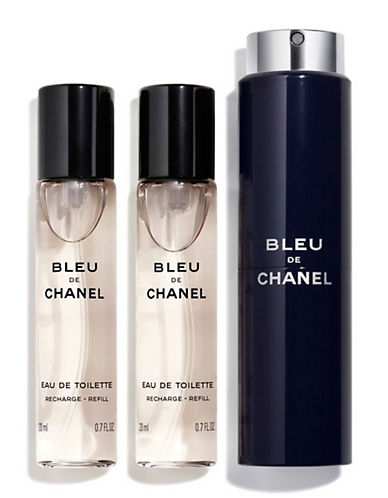 Chanel BLEU DE CHANEL <br> Eau de Toilette Refillable Travel Spray-NO COLOUR-60 ml