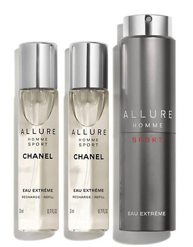 Chanel ALLURE HOMME SPORT <br>  Eau Extreme Refillable Travel Spray-NO COLOUR-60 ml