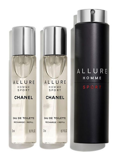 Chanel ALLURE HOMME SPORT <br> Eau de Toilette Refillable Travel Spray-NO COLOUR-60 ml