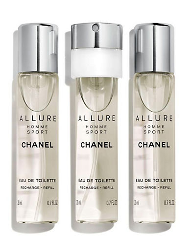 Chanel ALLURE HOMME SPORT <br> Eau de Toilette Refillable Travel Spray Refill-NO COLOUR-60 ml