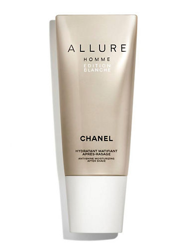 Chanel ALLURE HOMME ÉDITION BLANCHE <br> Anti-Shine Moisturizing After-Shave-NO COLOUR-100 ml