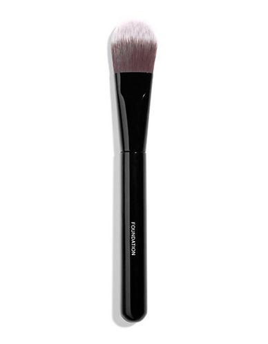 Chanel PINCEAU FOND DE TEINT <br> Foundation Brush-BLACK-One Size