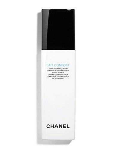 Chanel LAIT CONFORT <br> Creamy Cleansing Milk Comfort + Anti-Pollution Face And Eyes-NO COLOUR-150 ml