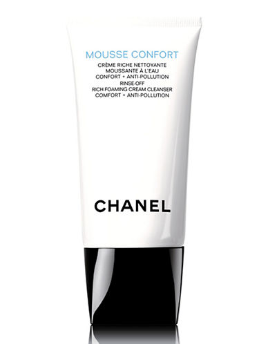 Chanel MOUSSE CONFORT <br> Rinse-Off Rich Foaming Cream Cleanser Comfort + Anti-Pollution-NO COLOUR-150 ml