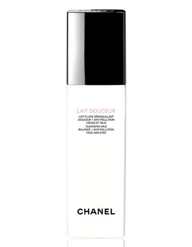Chanel LAIT DOUCEUR <br> Cleansing Milk Balance + Anti-Pollution Face And Eyes-NO COLOUR-150 ml