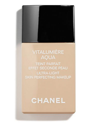 Chanel VITALUMIÈRE AQUA <br> Ultra-Light Skin Perfecting Makeup SPF 15-22 BEIGE ROSE-30 ml