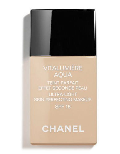 Chanel VITALUMIÈRE AQUA <br> Ultra-Light Skin Perfecting Makeup SPF 15-44 BEIGE AMBRE-30 ml