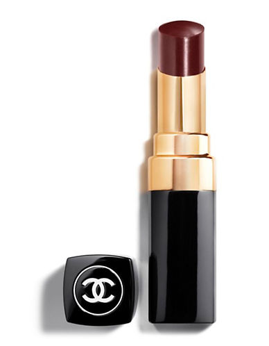 Chanel ROUGE COCO SHINE <br> Hydrating Sheer Lipshine-128 NOIR MODERNE-One Size