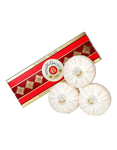 Roger & Gallet Jean Marie Farina Perfumed Soaps  Set Of Soaps 3X100G-NO COLOUR-120 ml