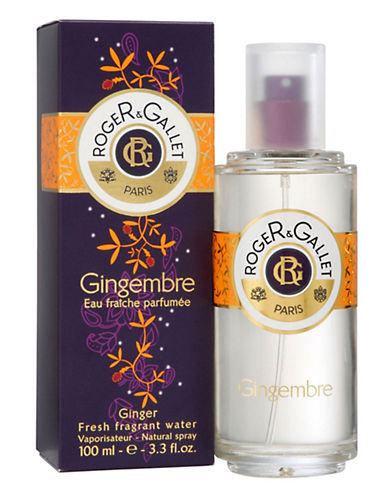 Roger & Gallet Ginger Fresh Fragrant Water  Spray 100Ml-NO COLOUR-100 ml