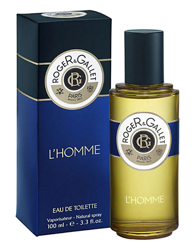Roger & Gallet LHomme Eau de Toilette Spray-NO COLOUR-100 ml