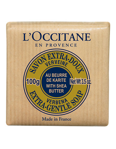 L Occitane Shea Extra Gentle Soap Verbena-NO COLOUR-100 ml