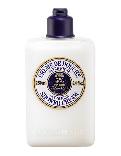 L Occitane Shea Ultra Rich Shower Cream-NO COLOUR-250 ml