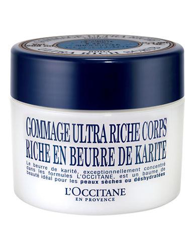 L Occitane Shea Ultra Rich Body Scrub-NO COLOUR-One Size