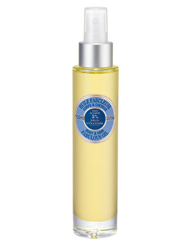 L Occitane Shea Butter Fabulous Oil-NO COLOUR-100 ml