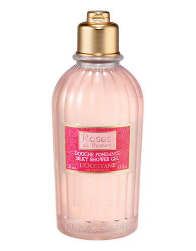 L Occitane Rose Bath and Shower Gel-NO COLOUR-250 ml
