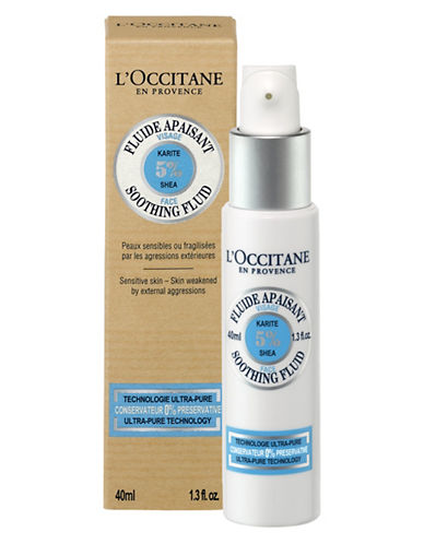 L Occitane Shae Face Soothing Fluid-NO COLOUR-40 ml