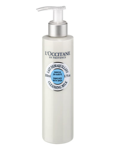 L Occitane Shea Cleansing Milk-NO COLOUR-200 ml