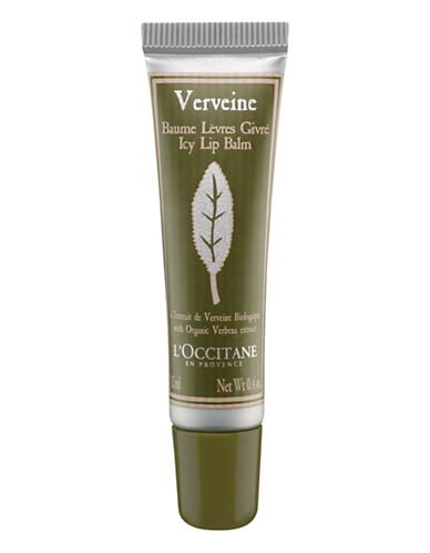 L Occitane Verbena Icy Lip Balm-NO COLOUR-15 ml