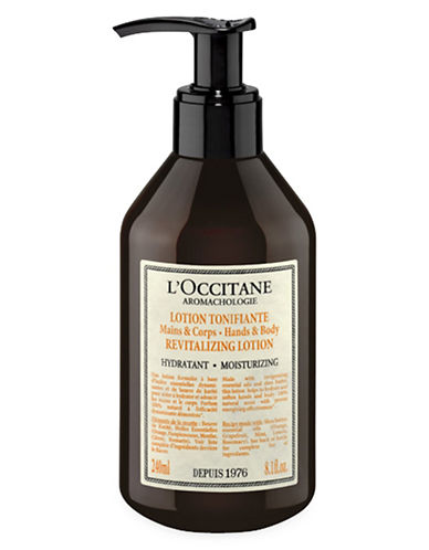 L Occitane Aromachologie Moisturizing Revitalizing Lotion for Hands and Body-NO COLOUR-240 ml