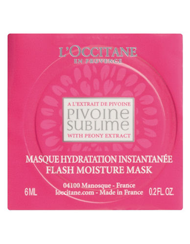 L Occitane Peony Hydrating Mask-NO COLOR-One Size