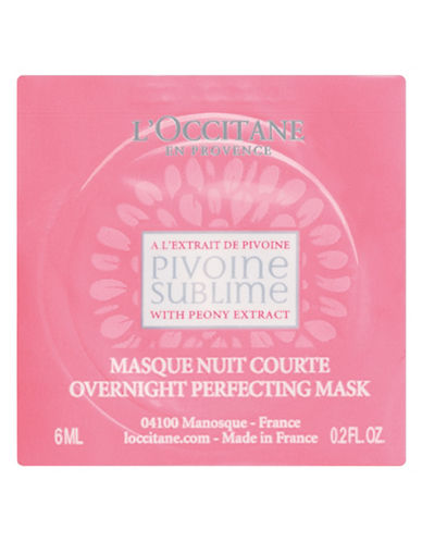 L Occitane Peony Night Mask-NO COLOR-One Size