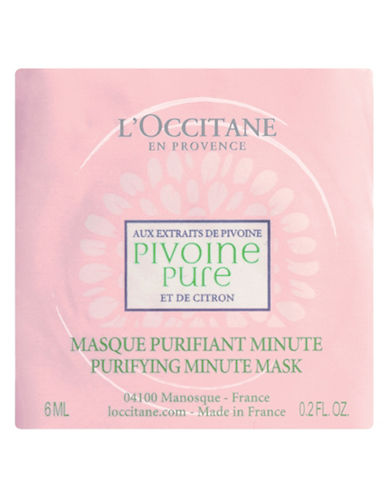 L Occitane Peony Purifying Mask-NO COLOR-One Size