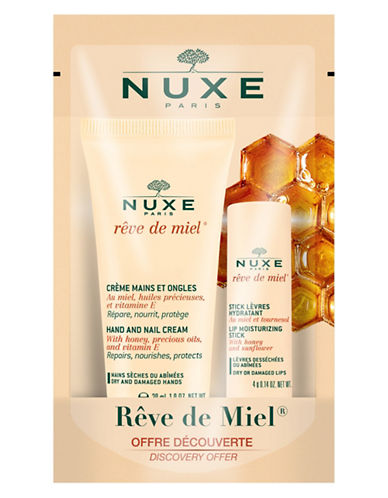 Nuxe Rêve de Miel Hands and Lip Duo-NO COLOR-One Size