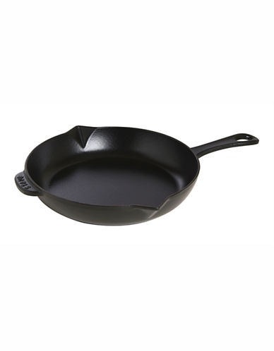 Staub 10 Inch Fry Pan-BLACK-10in