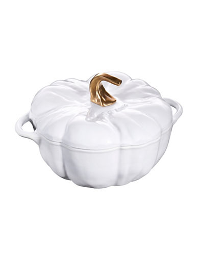 Staub Rustic Pumpkin Cocotte-IVORY-One Size
