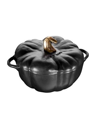 Staub Pumpkin Cocotte-BLACK-One Size