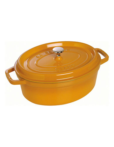 Staub Oval Cocotte-MUSTARD-4.25