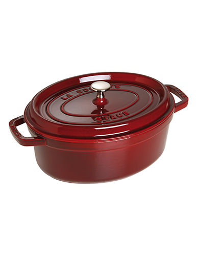 Staub Oval Cocotte-RED-4.25