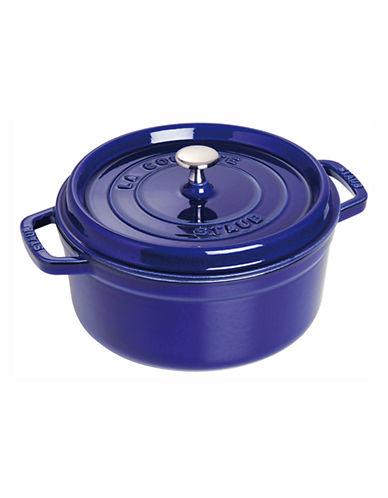 Staub 8.3 L Round Cocotte-DARK BLUE-8.3 L