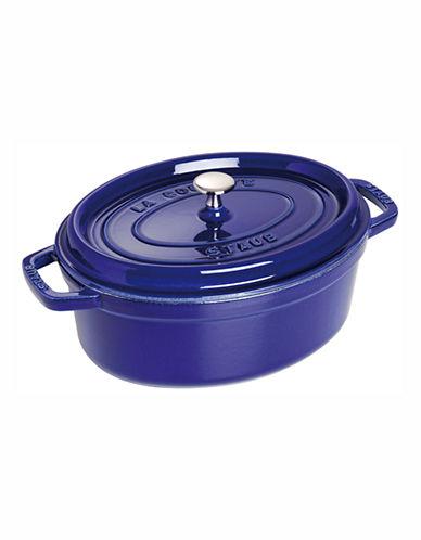 Staub 5.4 L Oval Cocotte-DARK BLUE-5.4 L