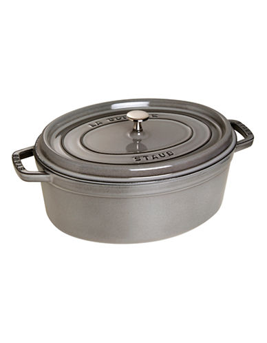 Staub Oval Cocotte 6.5L and 8L-GREY-8
