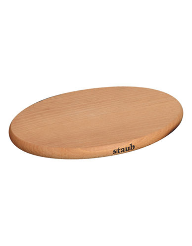 Staub Oval Wooden Magnetic Trivet-WOOD-Small