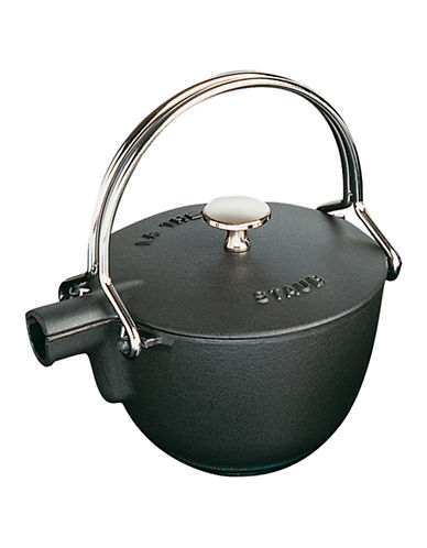 Staub Teapot-BLACK-1.1 L