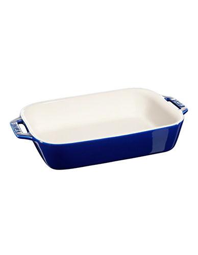 Staub Rectangular Ceramic Dish-BLUE-One Size