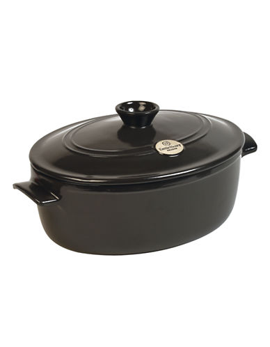 Emile Henry Oval Covered Stewpot-PEPPER-One Size