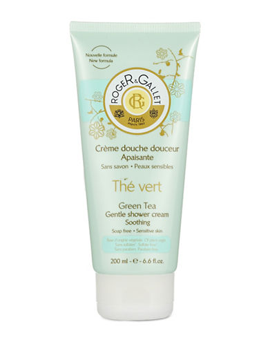 Roger & Gallet Green Tea Gentle Shower Cream-NO COLOUR-One Size