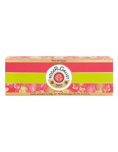 Roger & Gallet Fleur Figuier Soap Coffret-NO COLOUR-120 ml