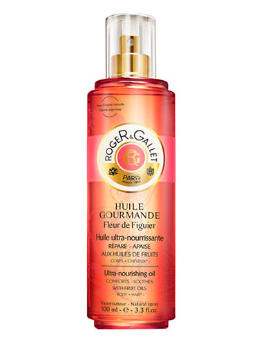 Roger & Gallet Huile Gourmande Fleur  de Figuier-NO COLOUR-100 ml