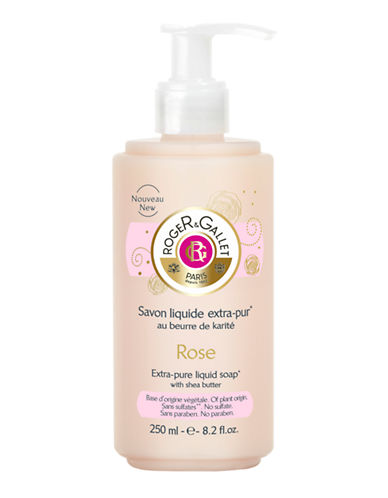 Roger & Gallet Rose Savon Liquid Extra-pur-NO COLOUR-250 ml