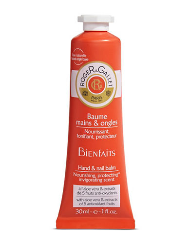 Roger & Gallet Bienfaits Hand and Nail Balm-NO COLOUR-30 ml