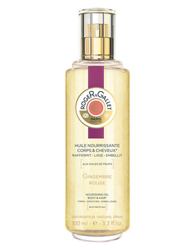 Roger & Gallet Gingembre Rouge Nourishing Oil-NO COLOR-120 ml