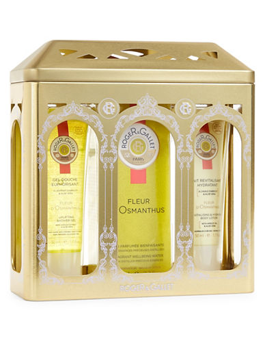 Roger & Gallet 3-Piece Osmanthus Flower Christmas Kit-NO COLOR-One Size
