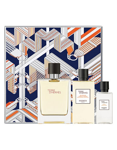 Hermès Three-Piece Terre D Hermes Eau de Toilette Set-0-100 ml