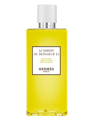 Hermès Le Jardin de Monsieur Li Perfumed Bath and Shower Gel 6.7 oz.-NO COLOUR-200 ml