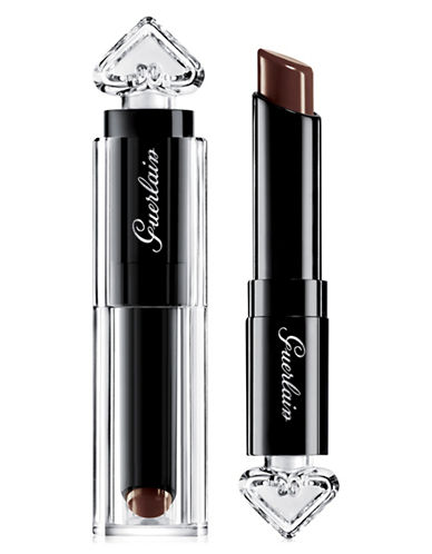 Guerlain La Petite Robe Noire Deliciously Shiny Lip Colour-BROWN-One Size